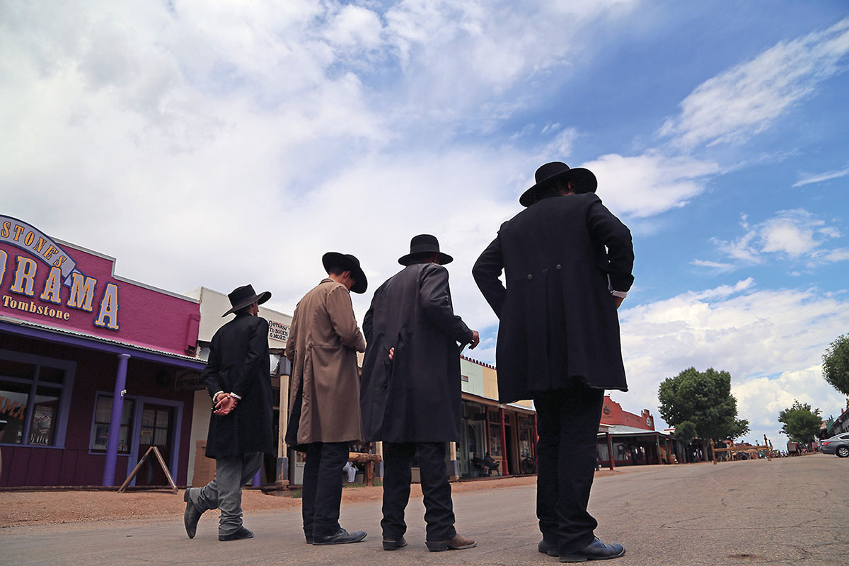 ok corral shootout reenactors tombstone true west magazine