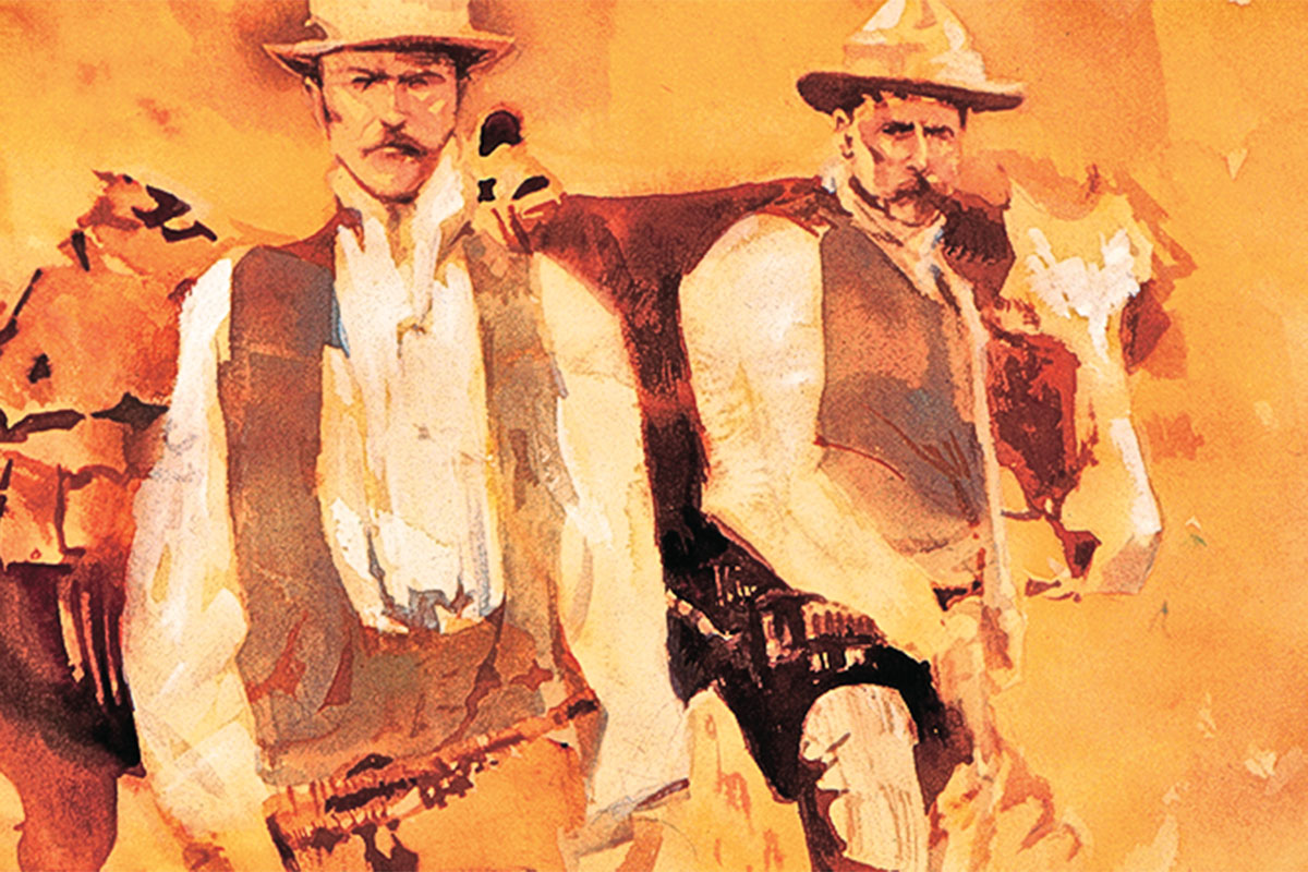 butch and sundance bob boze bell true west magazine