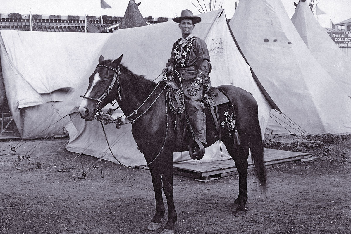 calamity jane on a horse true west magazine