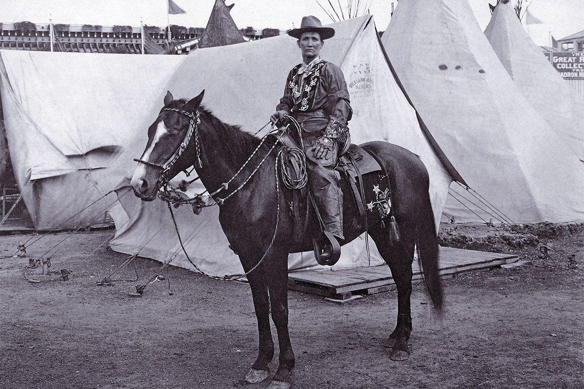calamity jane on a horse true west magazine