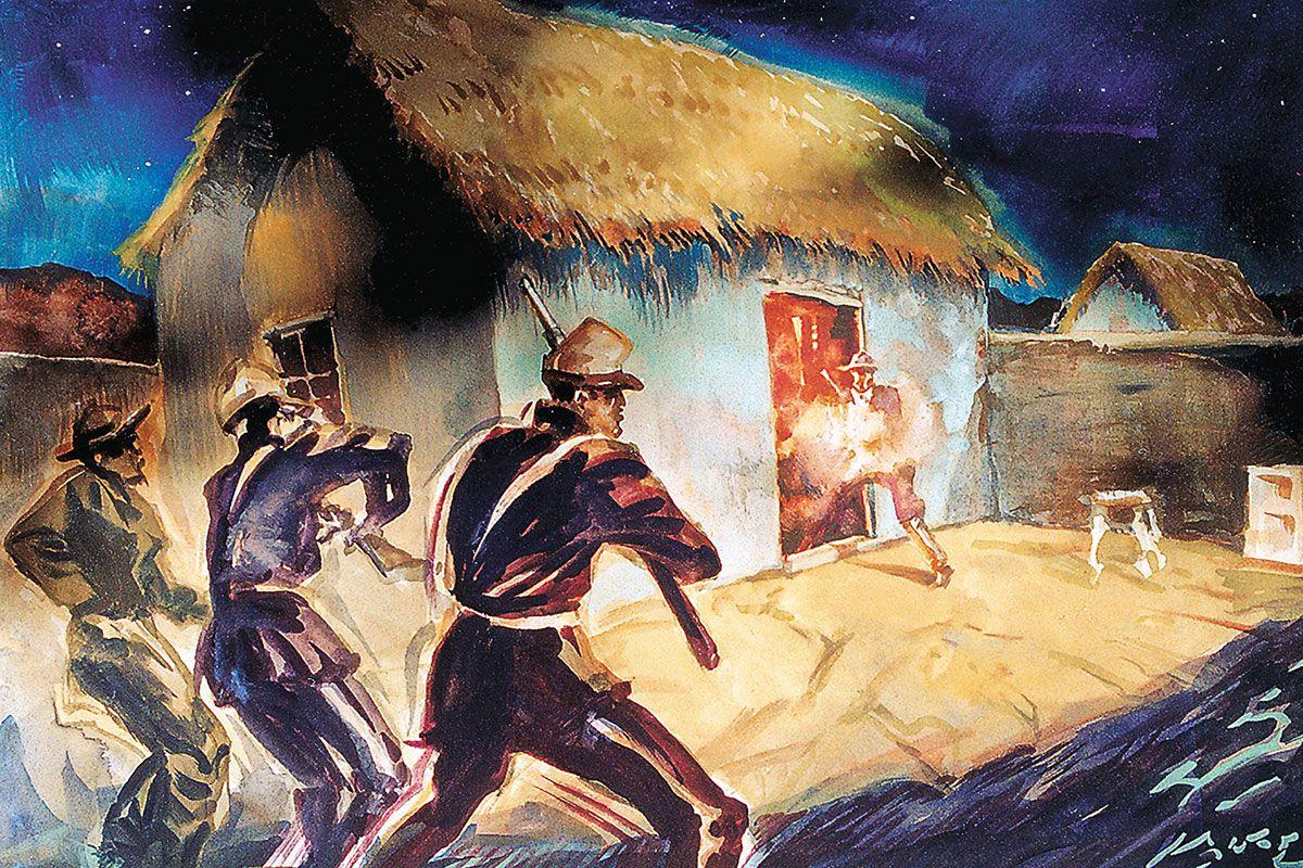 butch cassidy sundance kid bolivia gunfight true west magazine