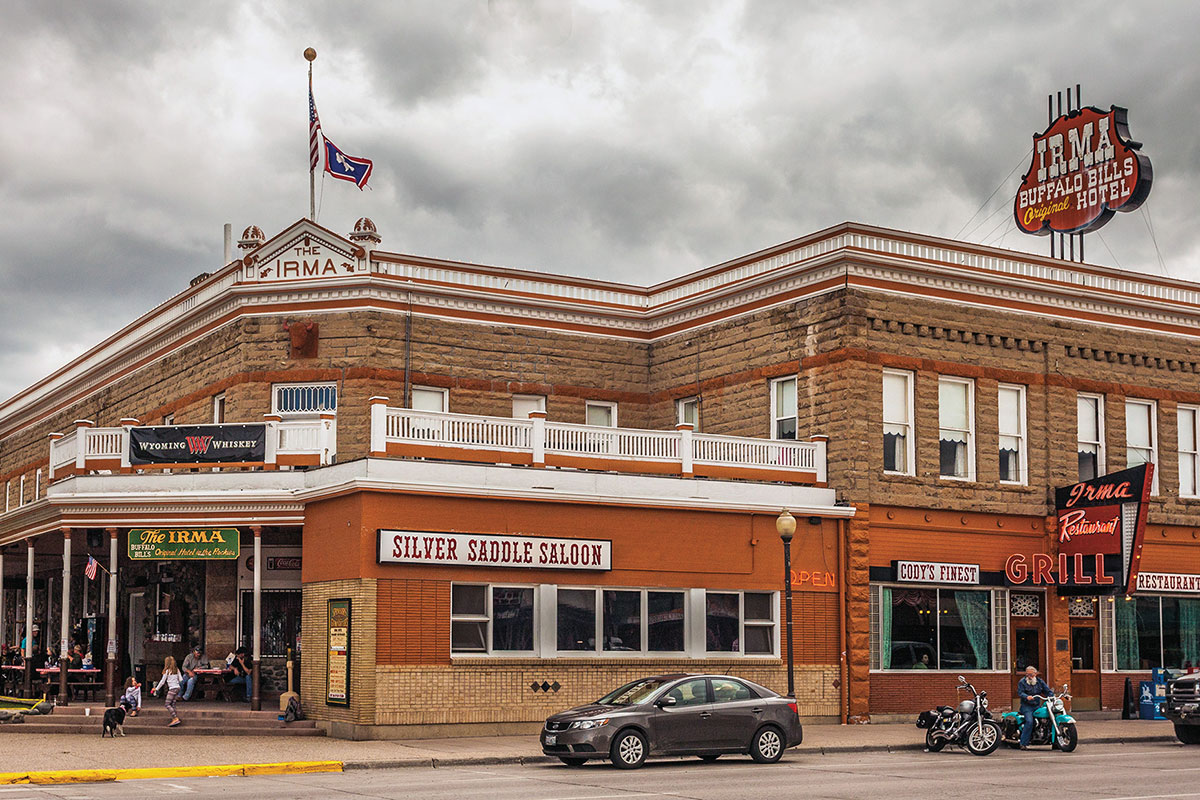 buffalo bill irma hotel cody wyoming true west magazine