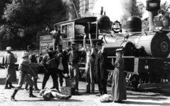 mock train robbery true west magazine
