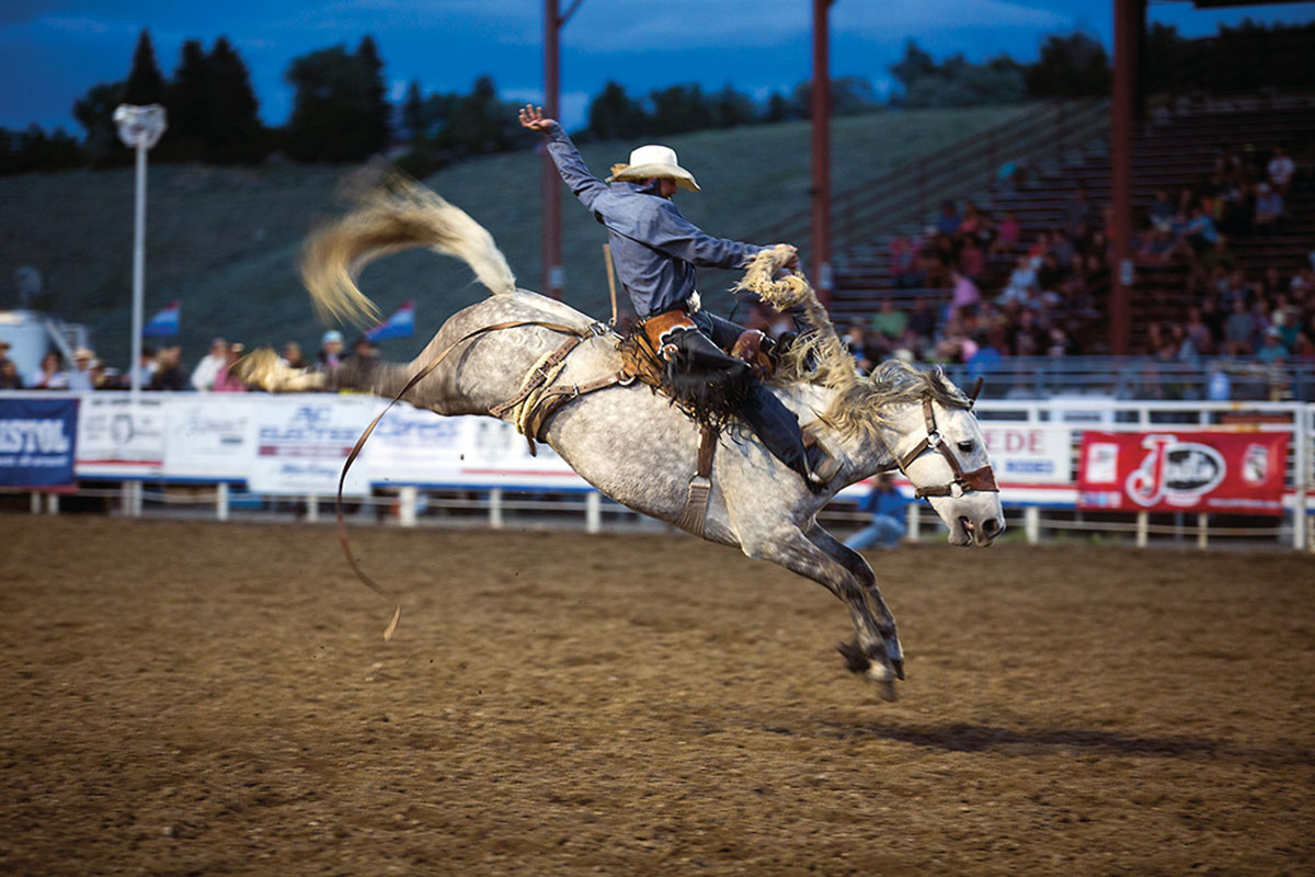 bucking horse cody wyoming true west magazine