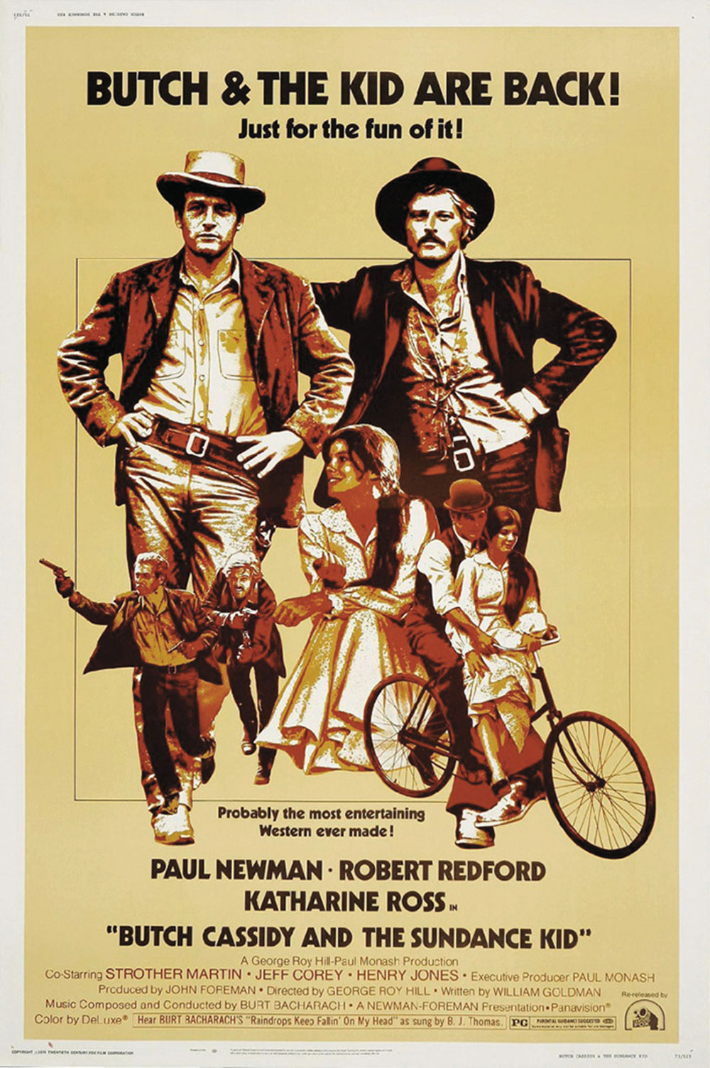 butch cassidy and the sundance kid movie poster true west magazine