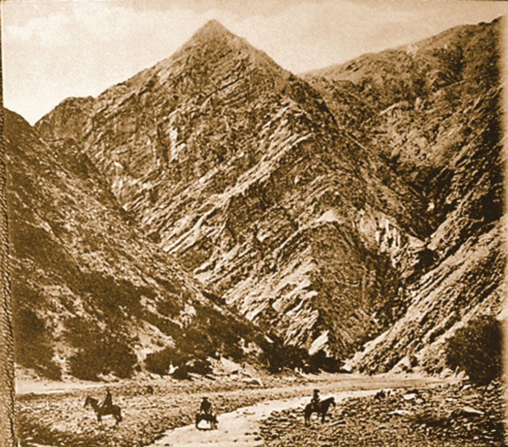 1910 postcard route to estarca true west magazine