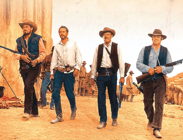 ben johnson warren oates william holden ernest borgnine the wild bunch movie true west magazine