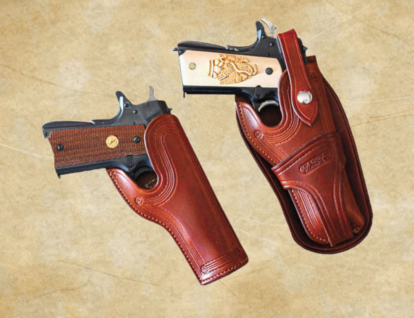 leather gun holsters shooting from the hip true west magazine