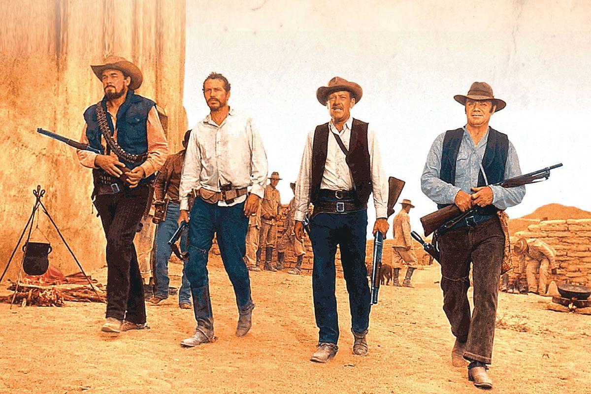 ben johnson warren oates william holden ernest borgnine the wild bunch movie true west magazine