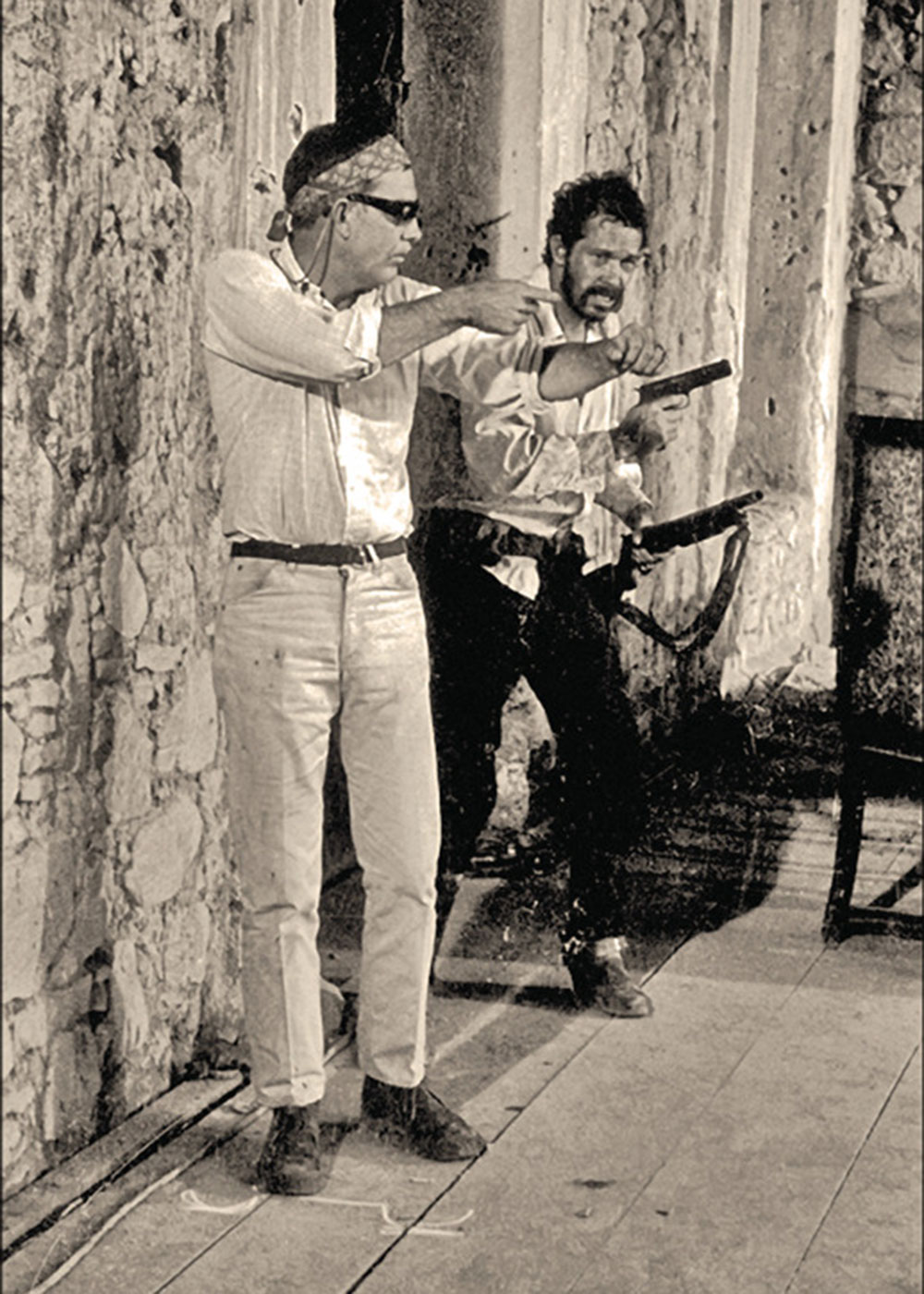 sam peckinpah warren oates behind the scenes the wild bunch true west magazine
