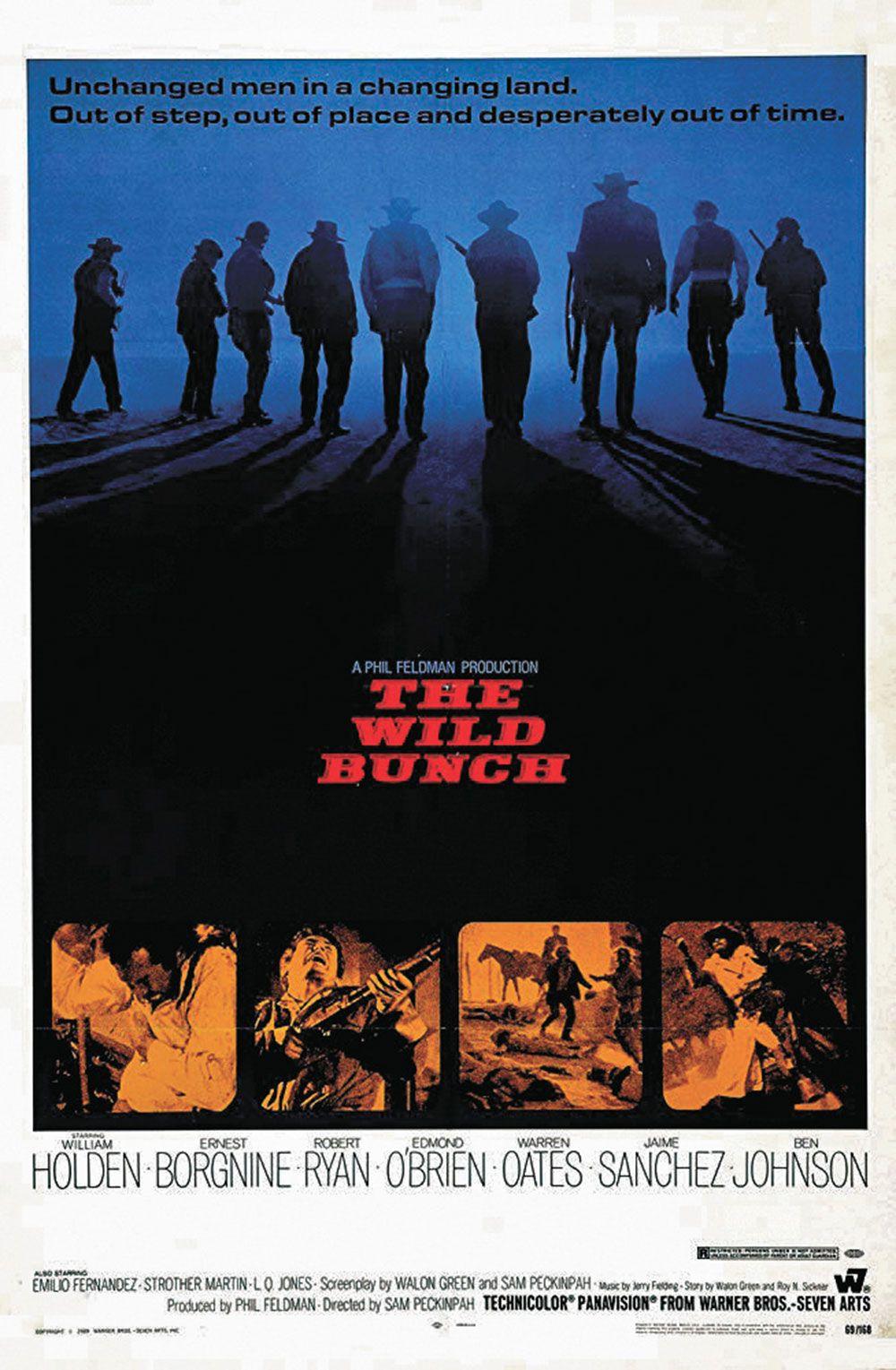 the wild bunch movie poster true west magazine