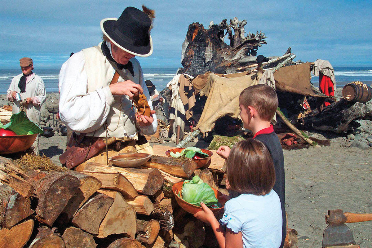 lewis and clark national historic site salt works seaside beach oregon true west magazine