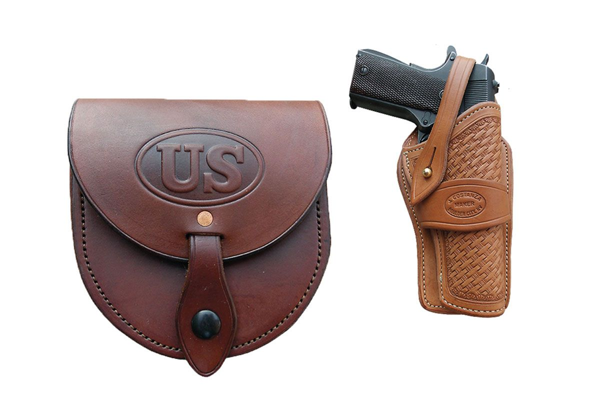 western star leather pouch and holster true west magazine