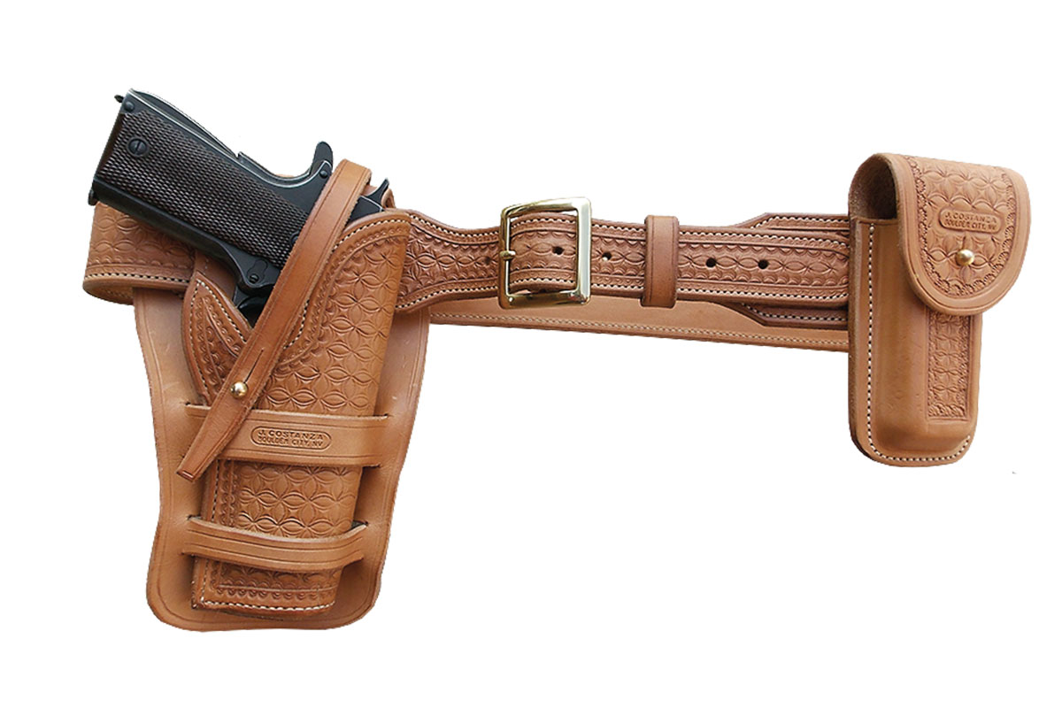 western star leather holster belt true west magazine
