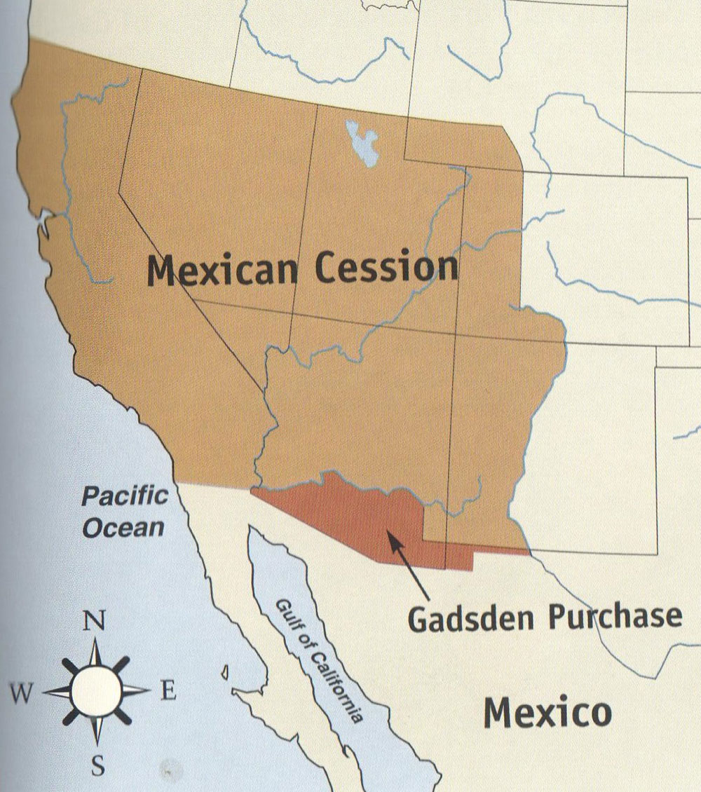 mexican cession and gadsden purchase arizona true west magazine