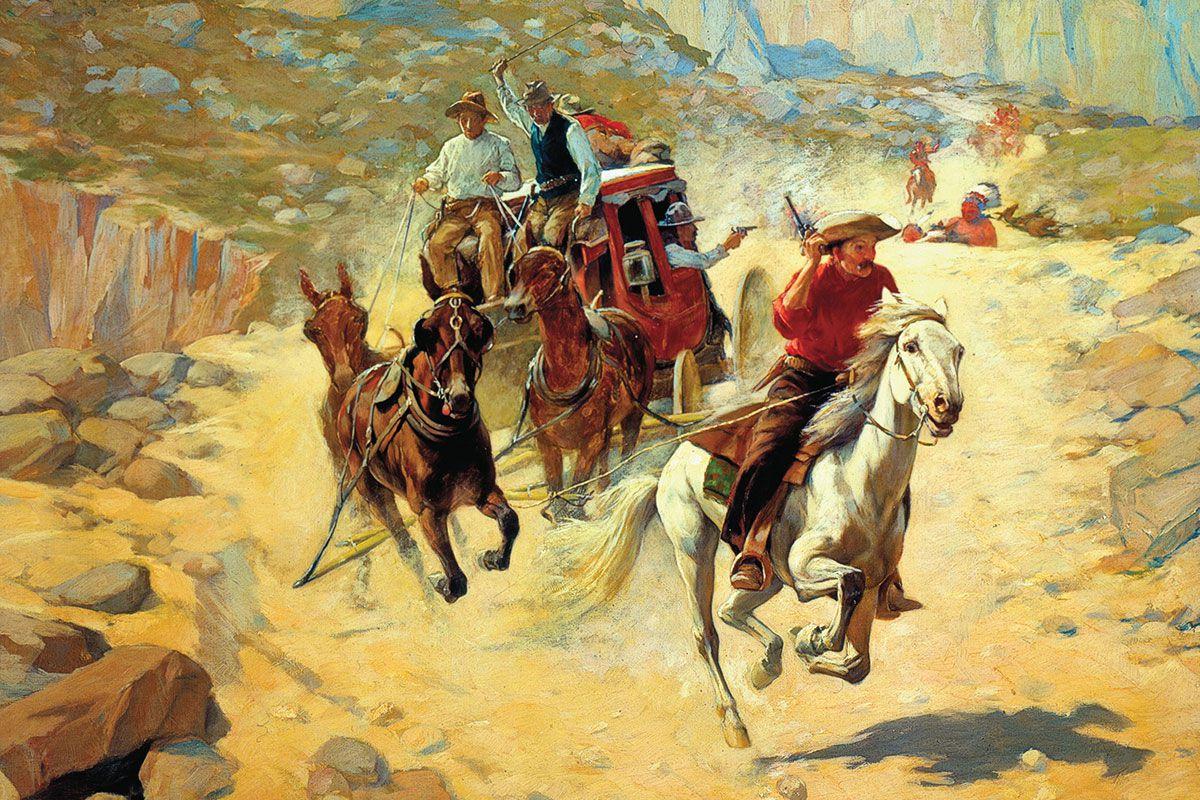 apaches mail stagecoach true west magazine