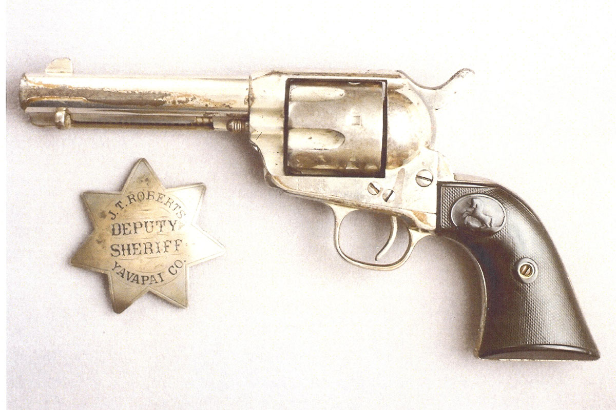 jim roberts pistol and badge true west magazine