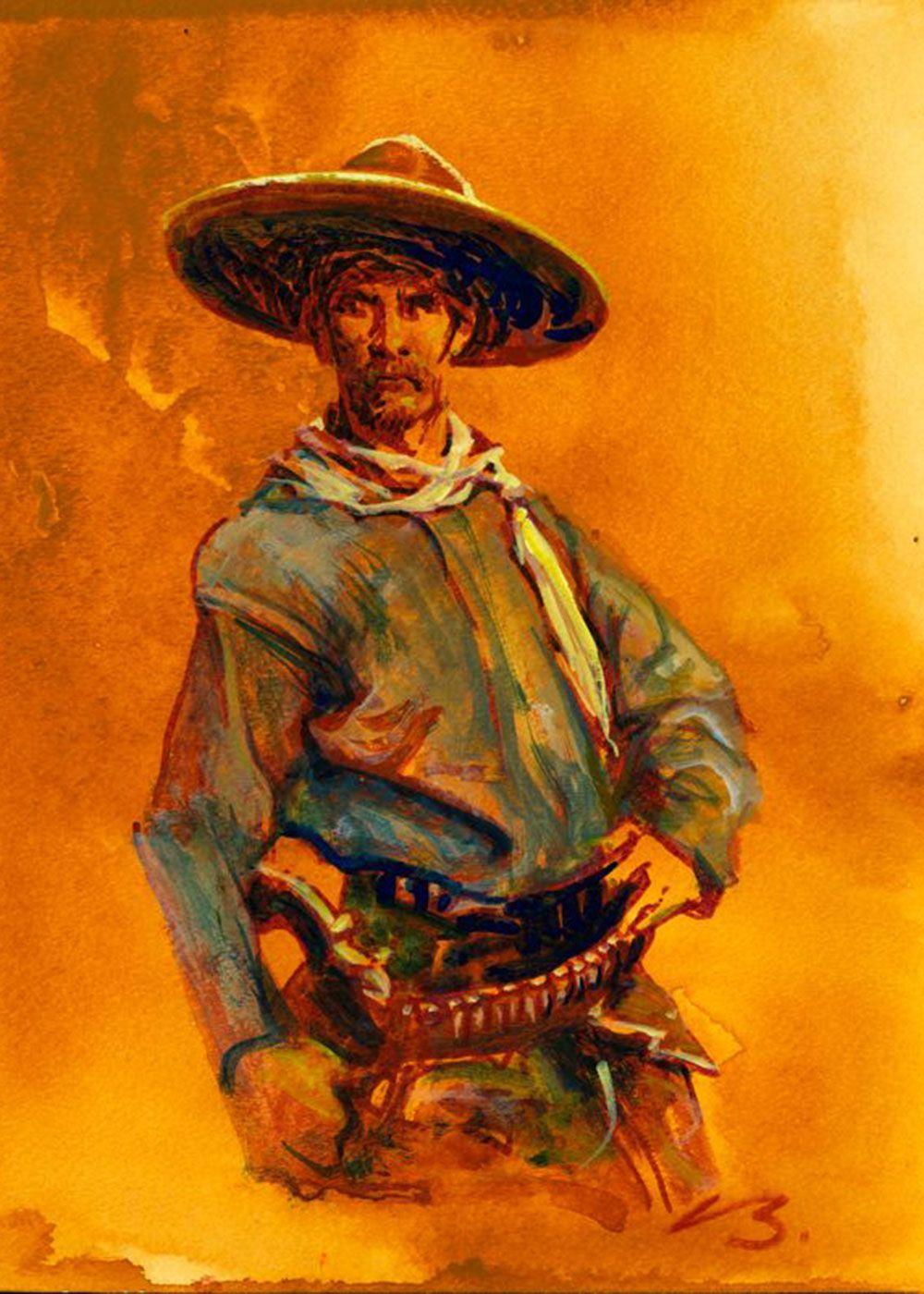 will c barnes bob boze bell painting true west magazine