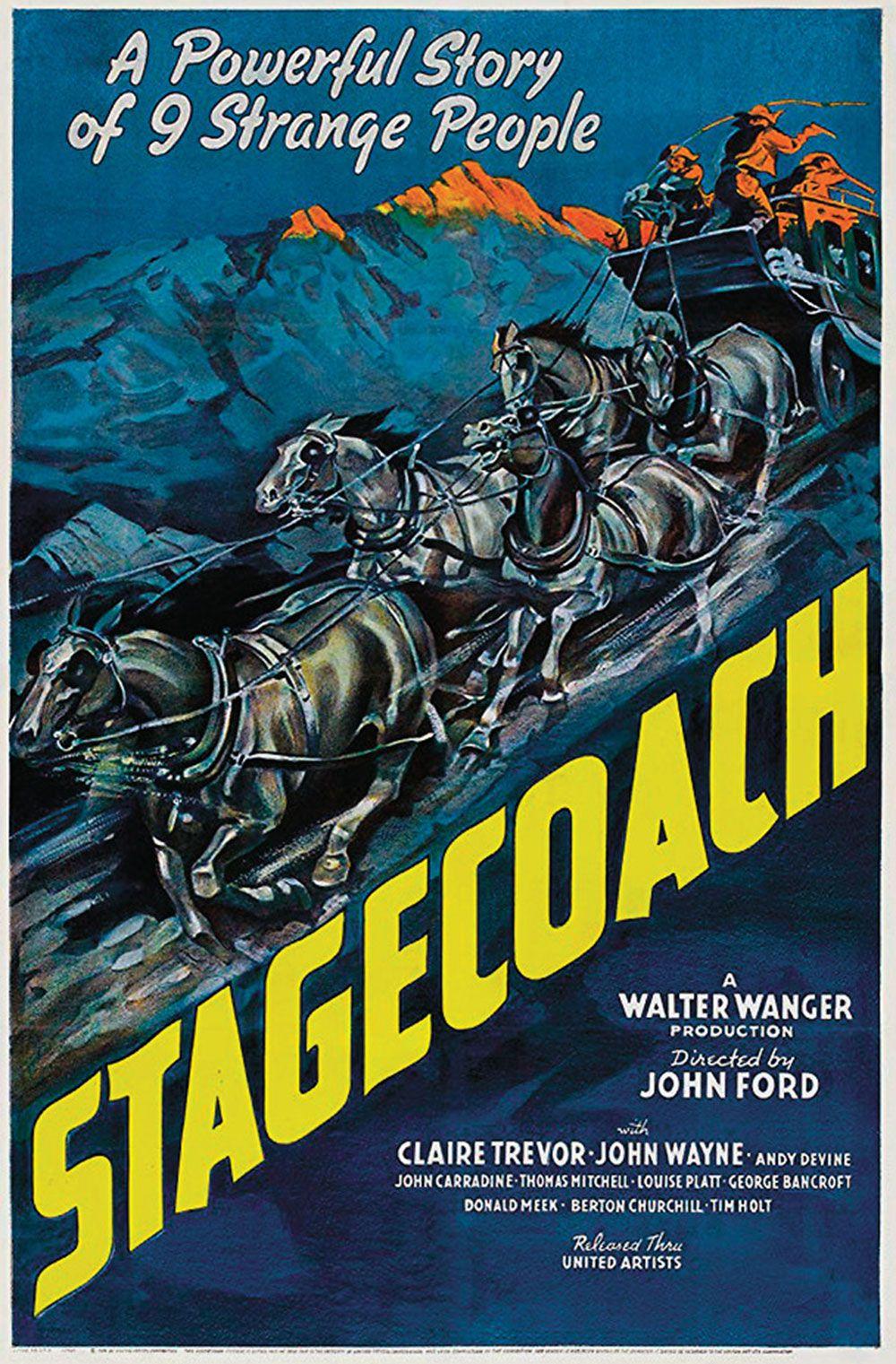 stagecoach movie poster true west magazine
