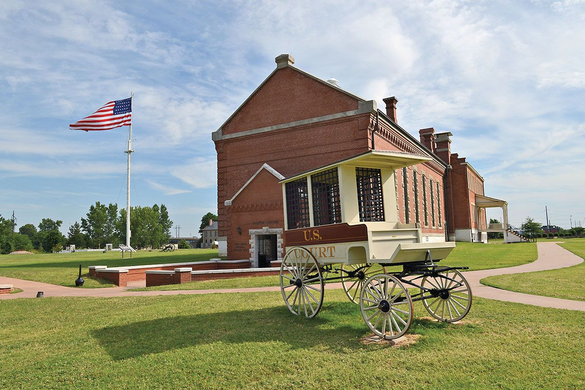 Fort Smith National Historic Site true west magazine