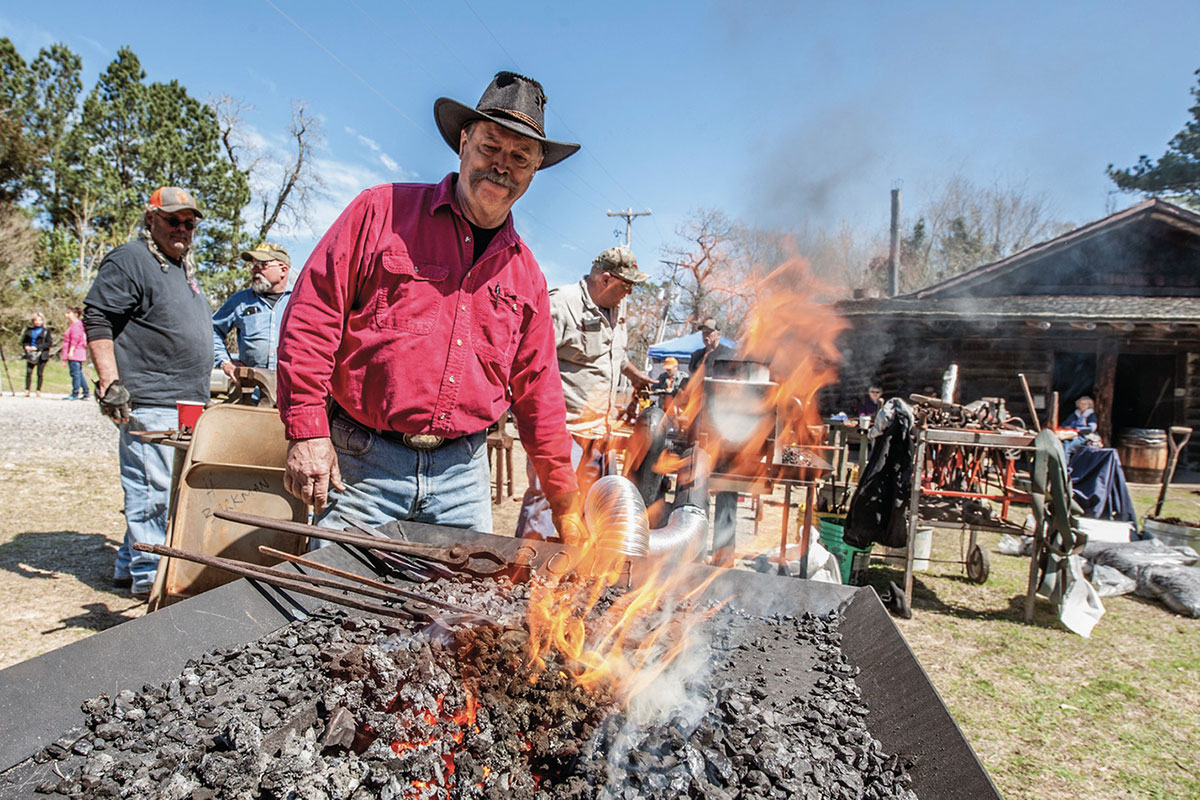 arkansas reenactment historic washington state park true west magazine