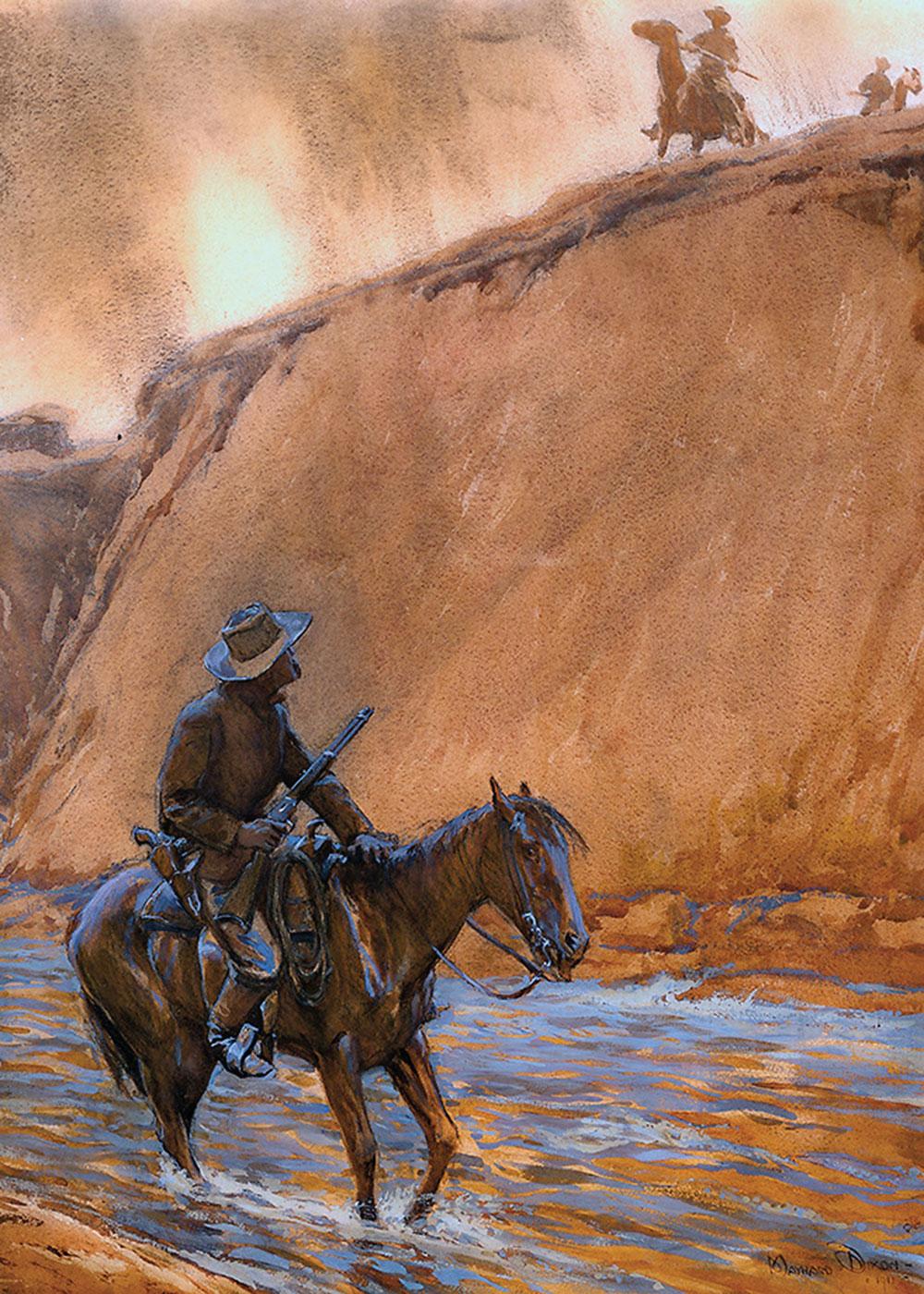 maynard dixon fugitives horse true west magazine