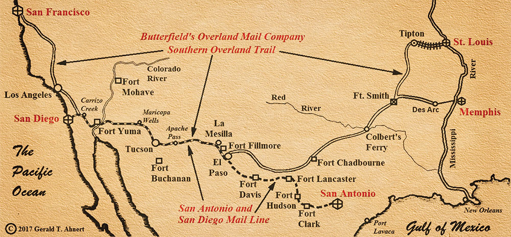southern overland trail - true west magazine