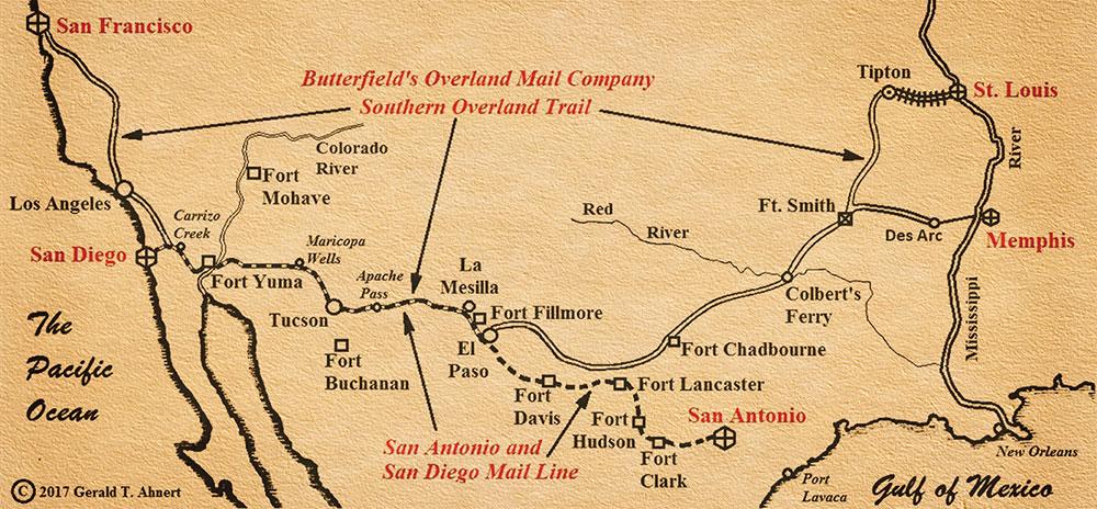 southern overland trail - true west magazine