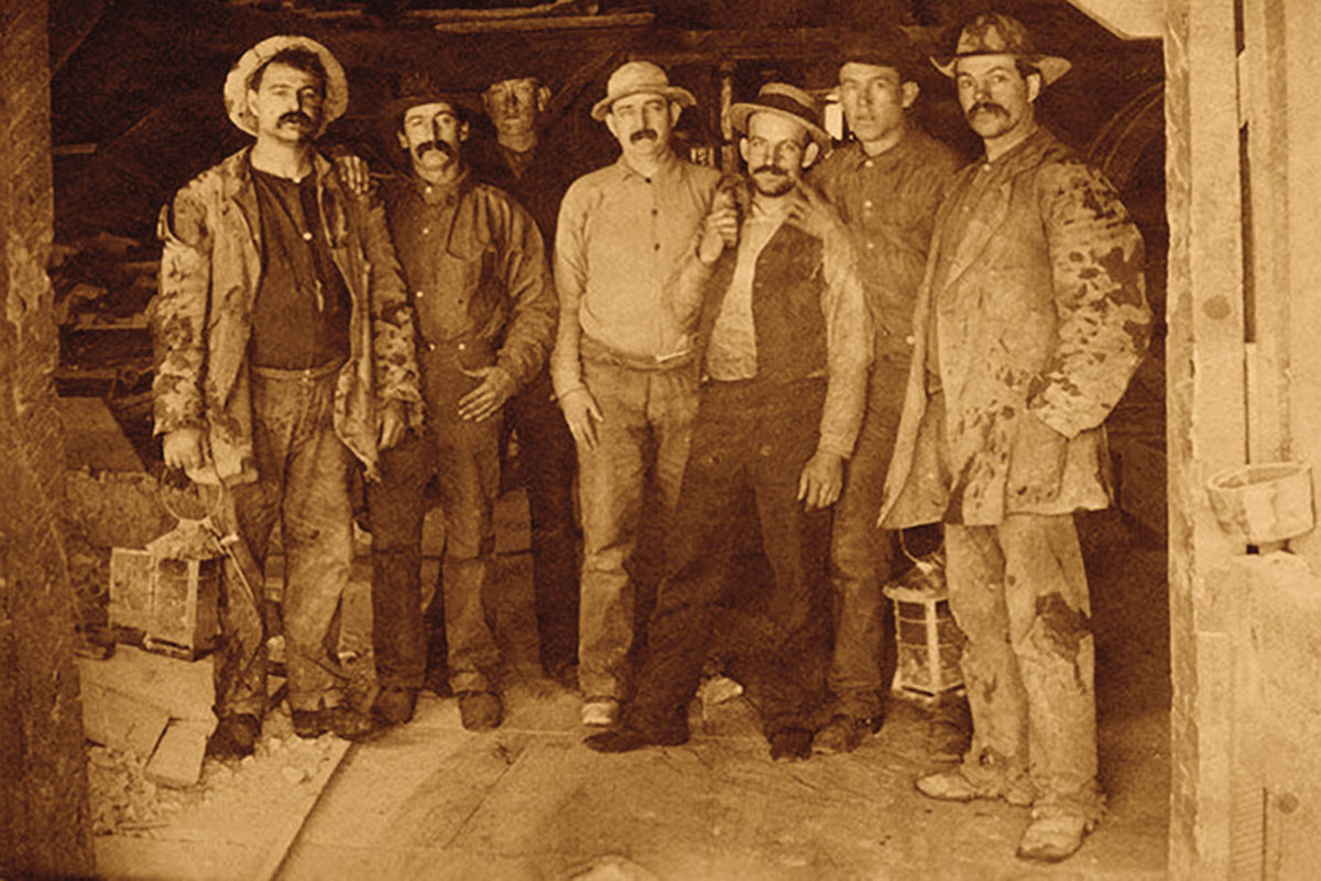 hard rock miners true west magazine
