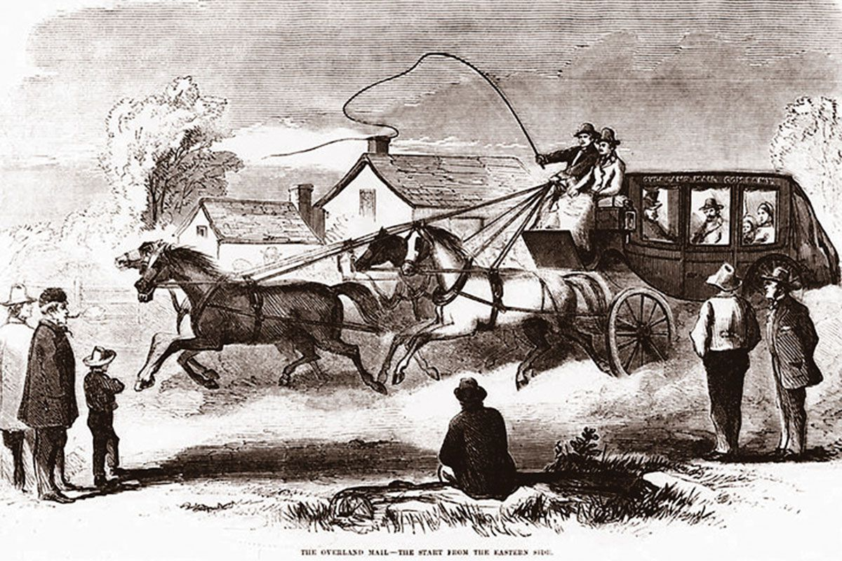 butterfield overland mail company true west magazine