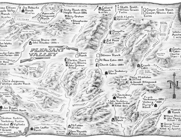 pleasant valley arizona map true west magazine
