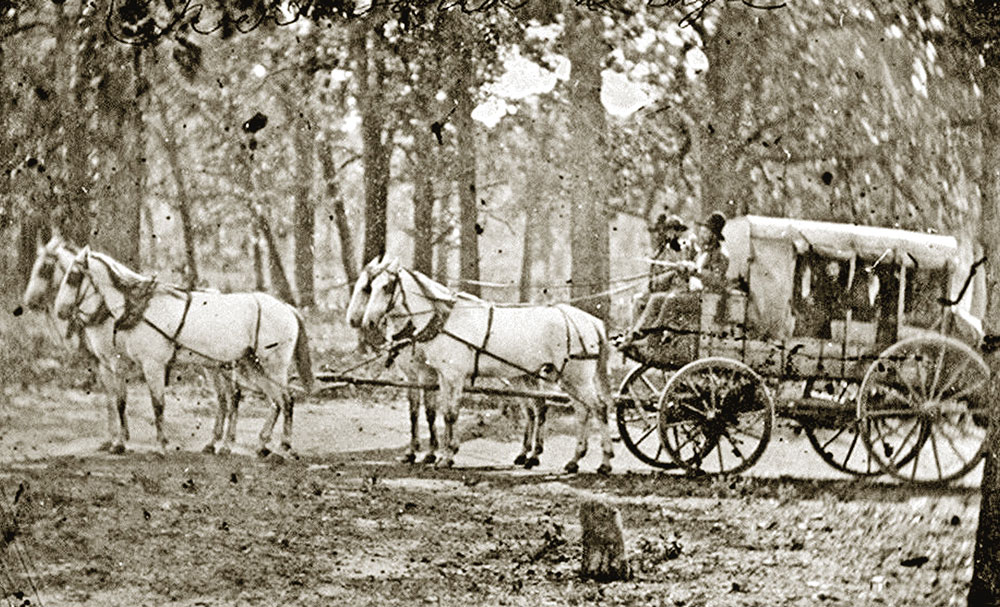 celerity coaches overland mail company true west magazine