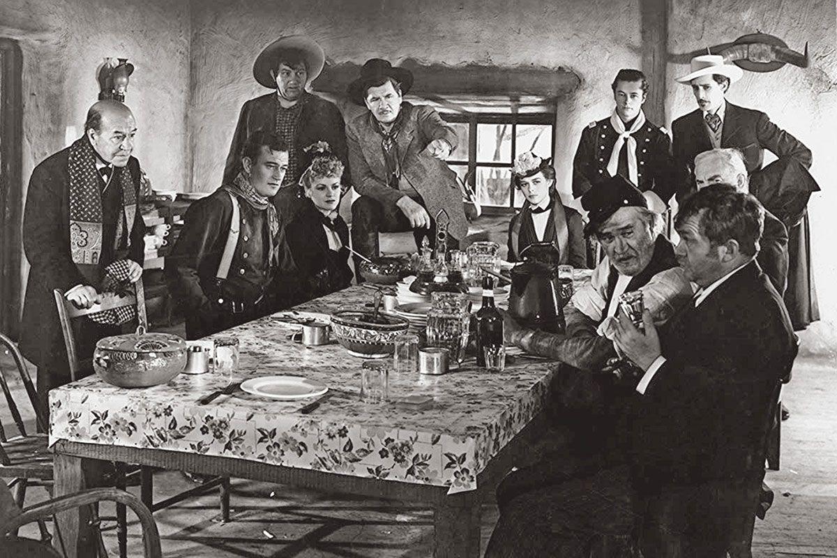 stagecoach dinner table true west magazine