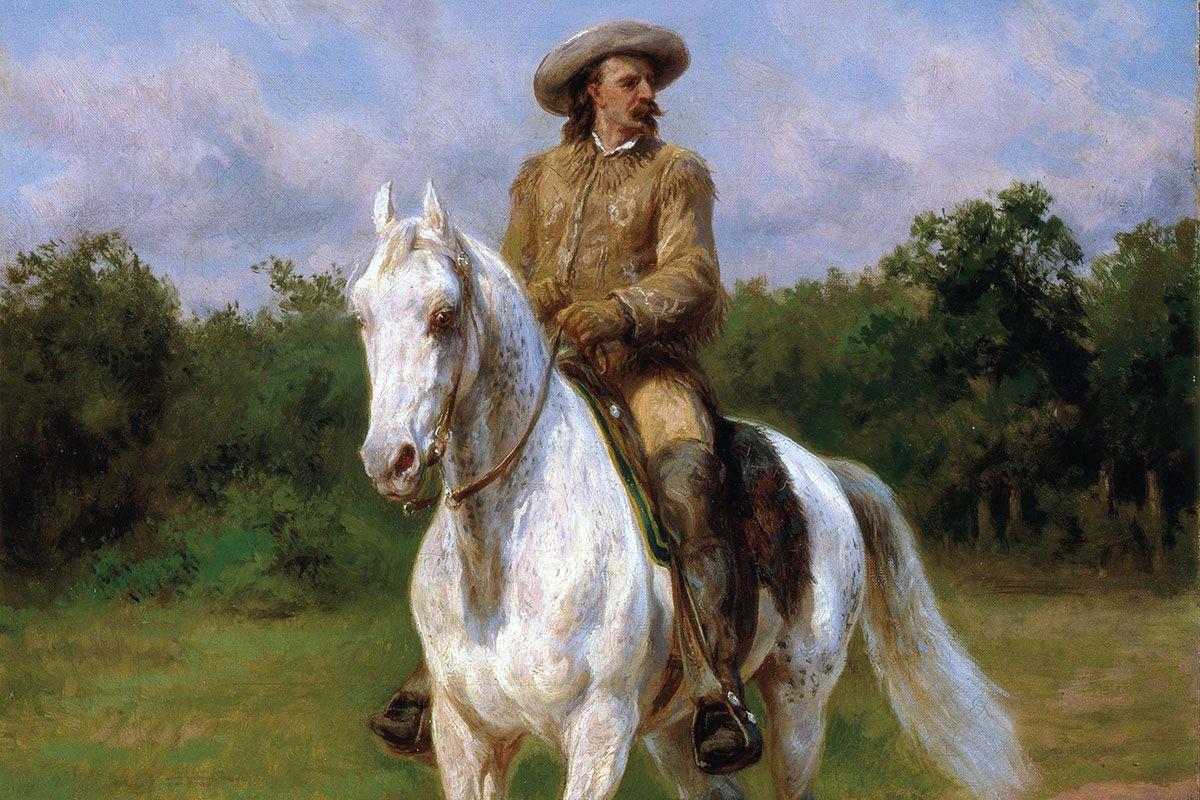 Rosa Bonheur painting col. william f. cody true west magazine