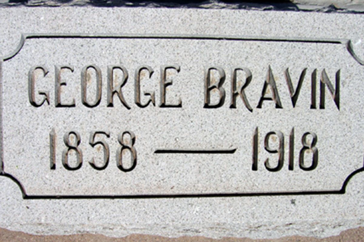 george bravin gravestone tombstone cemetery true west magazine