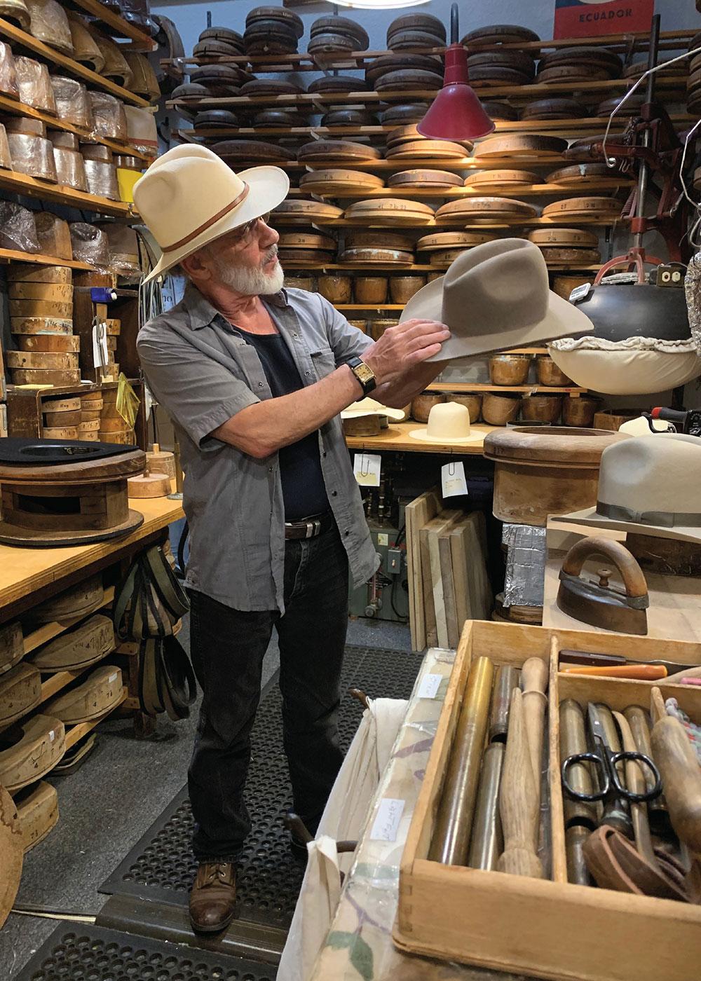 custom western hat maker true west magazine