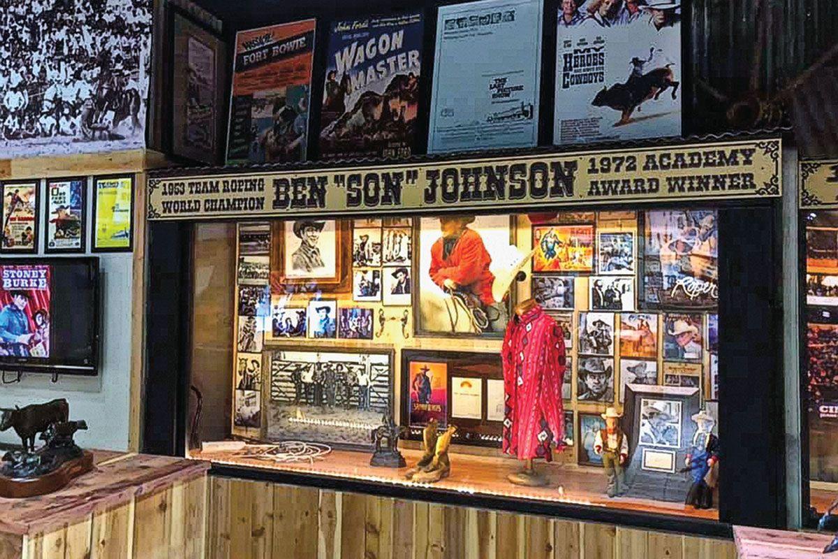 Ben Johnson Cowboy Museum pawhuska oklahoma true west magazine