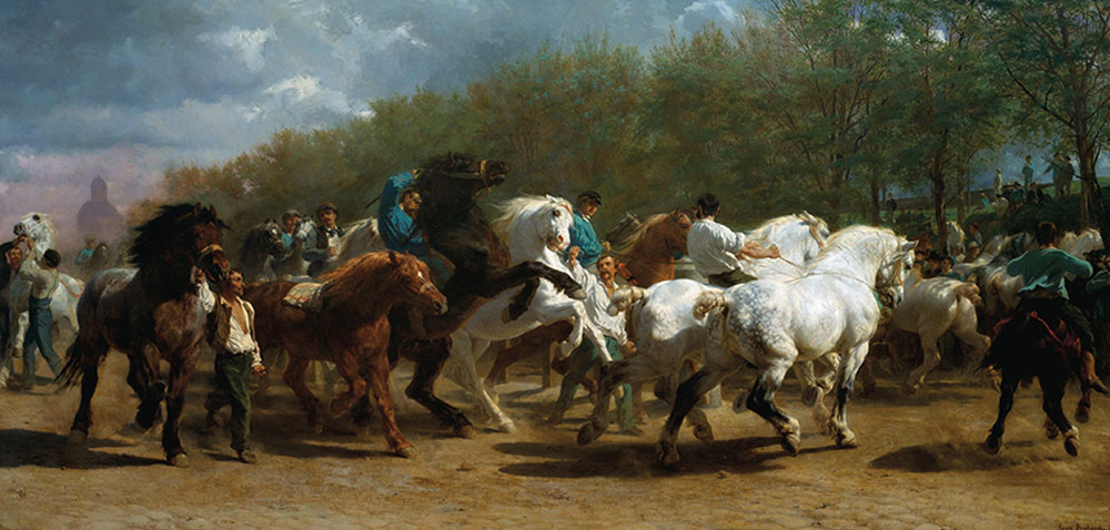 the horse fair rosa bonheur true west magazine