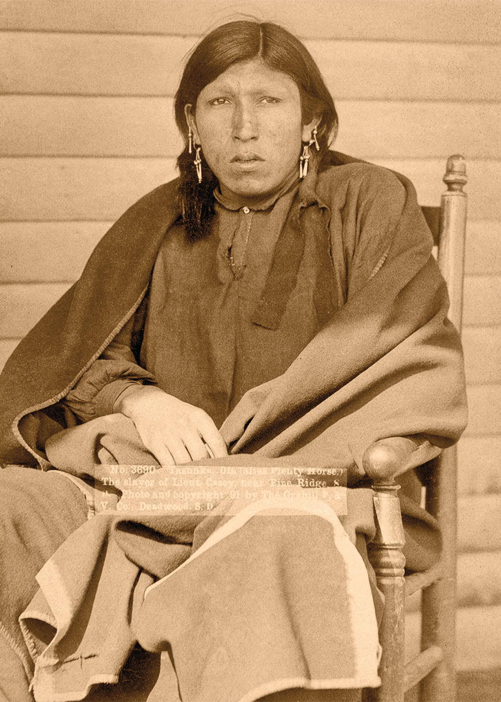 Brulé Lakota Plenty Horses true west magazine
