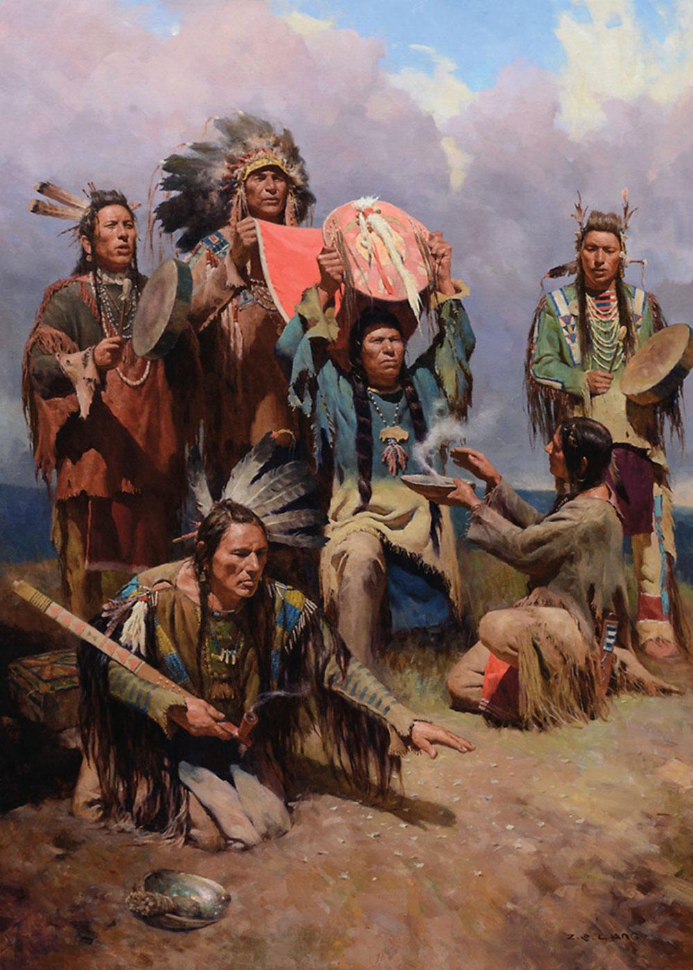 The White Buffalo War Shield Z.S. Liang true west magazine