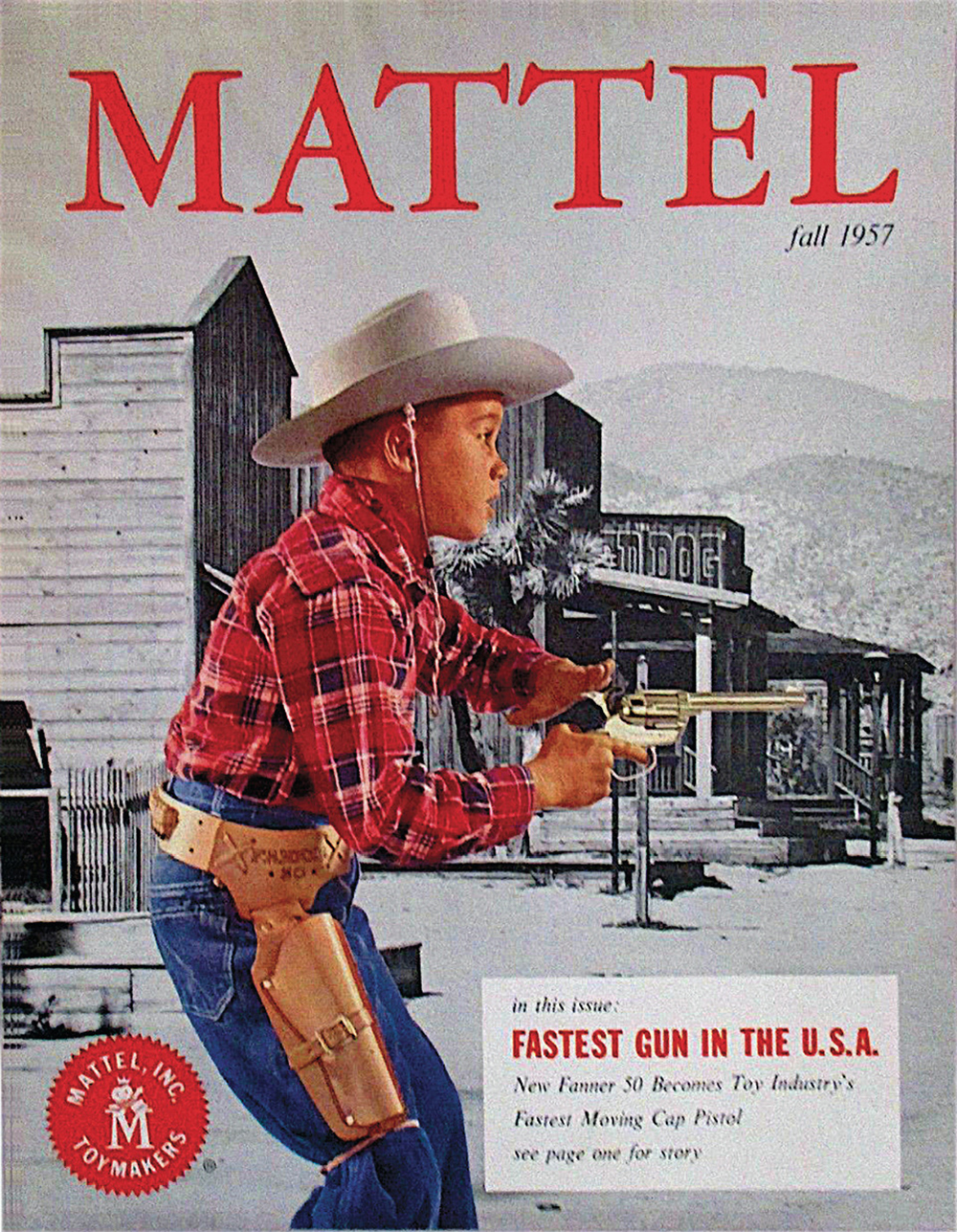 mattel true west magazine