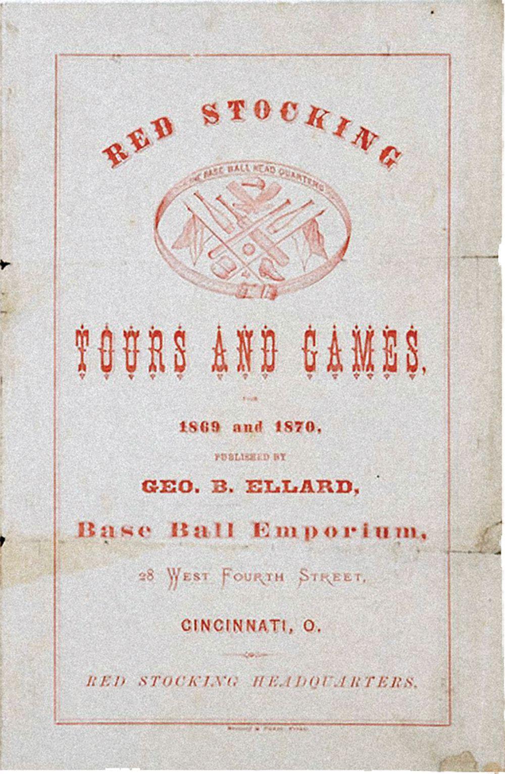 Cincinnati Red Stockings true west magazine