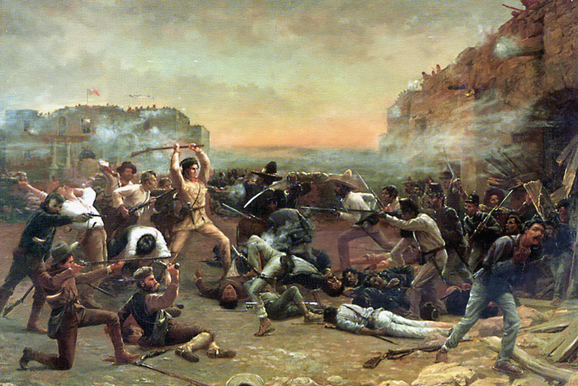 Battle of the Alamo True West Magazine