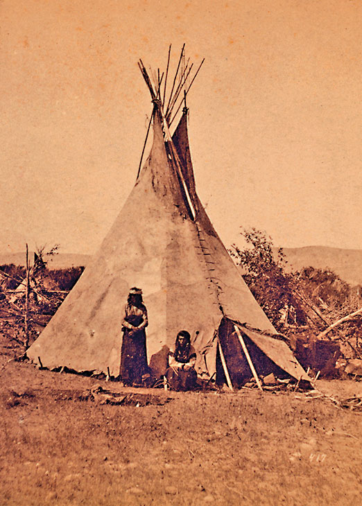 Teepee True West Magazine