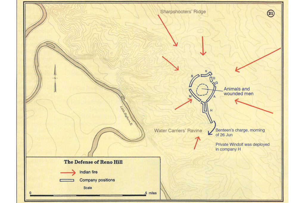 Map of Reno Hill True West Magazine