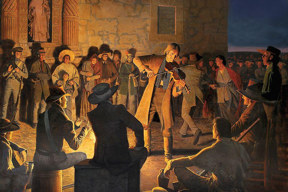 H. David Wright's Colonel Crockett's Last Serenade