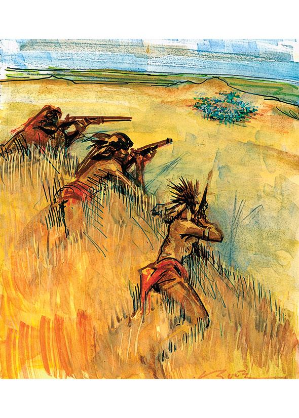 Native Sharpshooters True West Magazine