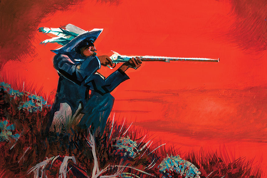 Sniper on Sharpshooter Ridge True West Magazine