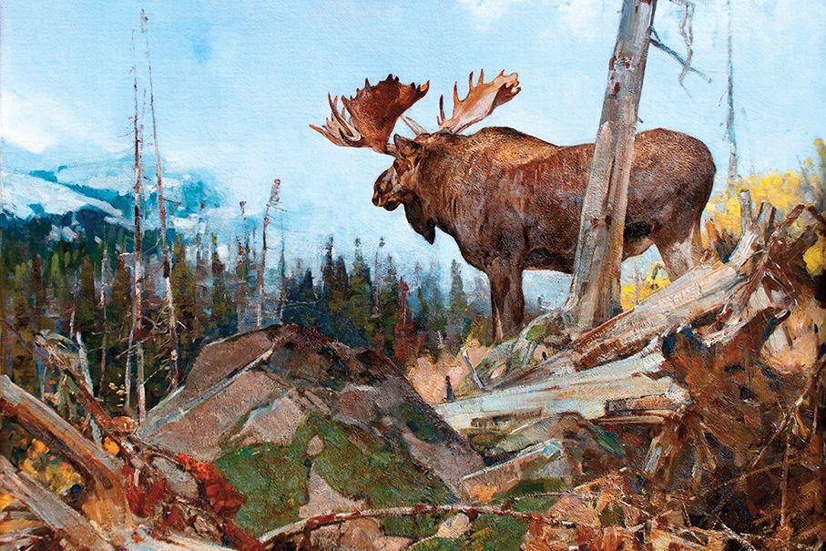 Carl Rungius Alaskan Wilderness True West Magazine