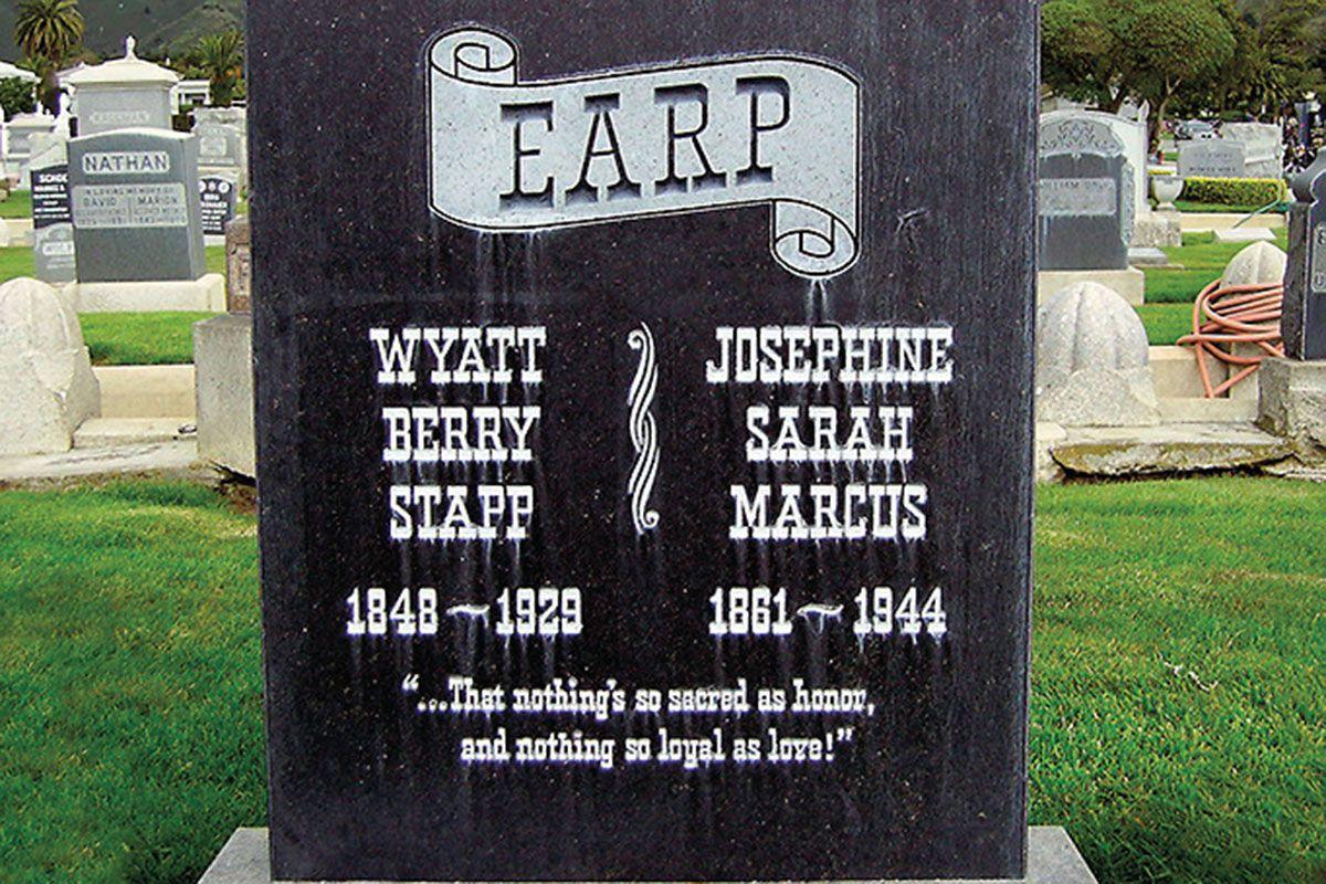 wyatt earp grave